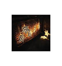 Rattan Star String Lights by Set Of 12 Solar Star String Lights Kent Collection