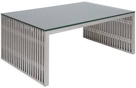 Amici Coffee Table Amici Stainless Steel Coffee Table By Nuevo Amici Table Free