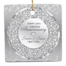 silver 25th wedding anniversary gifts on zazzle