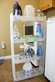 Laundry Room Cart - laundry room cart between washer and dryer like the storage