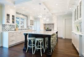 white kitchen with backsplash white kitchen with blue gray backsplash tile home bunch
