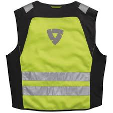 fluorescent cycling jacket rev u0027it athos air motorcycle bike hi viz reflective lightweight
