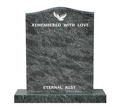 granite headstones bahama blue granite headstone monuments 75