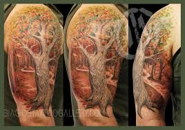 biagio s gallery tattoos half sleeve family tree by