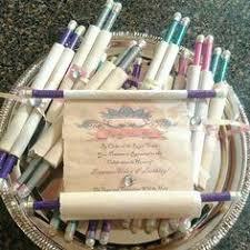 Diy Scroll Invitations How To Make Scroll Invitations Wednesday November 30 2011