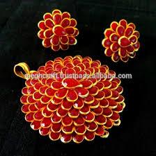pachi work earrings fashion pendant set pachi work pendant set indian