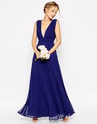 robe mariage bleu temoin de mariage bleu