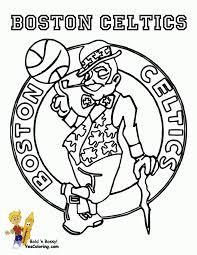 Celtics Coloring Pages celtics basketball coloring pages 1029