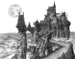 castle dracula set design by davinci41 on deviantart coloring