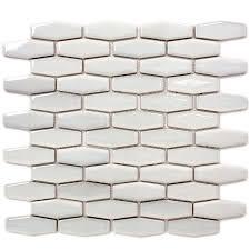 shop gbi tile u0026 stone inc gray mosaic porcelain wall tile common