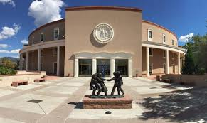 New Mexico State House Capitol Is Government In Action And An Art Gallery As Well