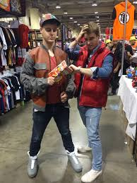 Marty Mcfly Costume Self Marty Mcfly Paradox Twin Win Cosplay