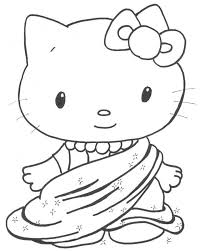 tabby cat coloring pages funny cat pics for kids coloring home