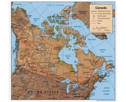 download map of canada and united states with cities major