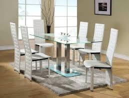 Dining Table Black Glass White Glass Dining Table Sets U2013 Zagons Co