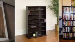 Sauder 3 Shelf Bookcase by Review Sauder Multimedia Storage Tower Cinnamon Cherry Youtube