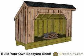 Outdoor Wood Shed Plans by Firewood Shed Plans Diy Wood Bins Easy To Build Wood Shed Designs