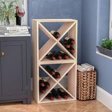 wine rack cube wayfair