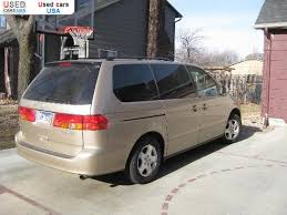 used car honda odyssey for sale 2001 passenger car honda odyssey sioux falls insurance