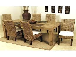 Quality Dining Room Tables Wicker Chairs Indoor Smc