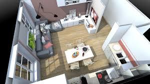deco cuisine salon salon et cuisine salon et cuisine design banque spacieux