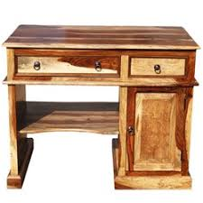 All Wood Computer Desk Solid Wood Computer Desk For Small Space