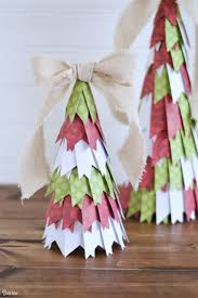 make paper ornaments for christmas tree christmas lights decoration