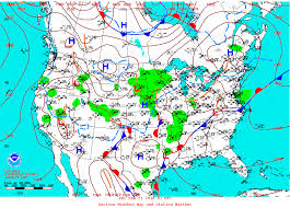 Local Weather Map Wpc North American Surface Analyses