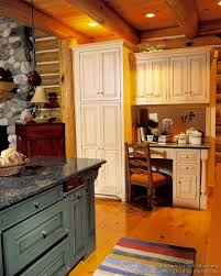 desk in kitchen design ideas pictures of kitchens traditional two tone kitchen cabinets