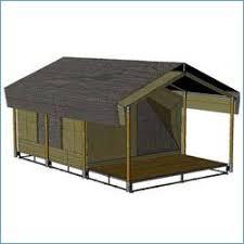 wooden tent sai tent