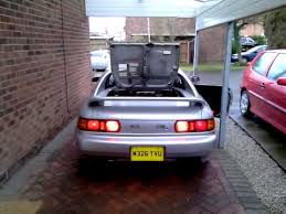 toyota mr2 fog lights toyota mr2 g limited rear light test youtube
