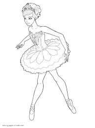barbie in the pink shoes coloring pages coloring home