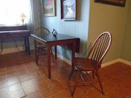 Drop Leaf Breakfast Table Drop Leaf Breakfast Table With 2 Chairs For Small Kitchen