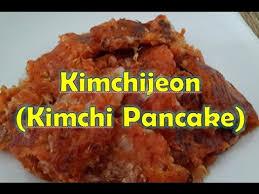cara membuat pancake kimchi korea resep kimchijeon kimchi pancake youtube