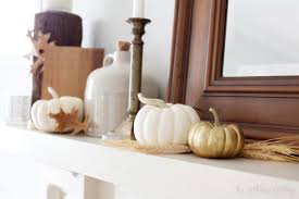 thanksgiving home decor ideas festive atmosphere in gold and
