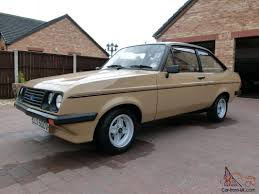 ford escort mk2 rs2000 genuine low mileage car