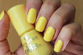 gel nail polish comes in different colors and some types can be