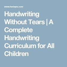 best 25 handwriting without tears ideas on pinterest writing