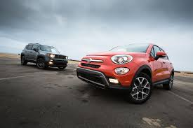 jeep renegade 2016 fiat 500x trekking awd better or worse than the jeep