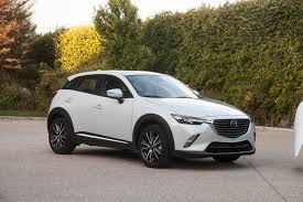 mazda car range 2016 2017 mazda cx 3 changes little in sophomore year