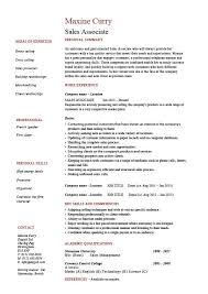 sample resume sales sample résumé sales marketing executive