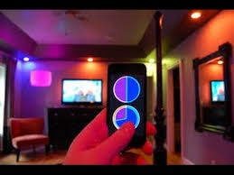 mood lighting for room cool philips hue living room wireless mood lighting youtube