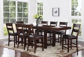 three posts norden 9 piece counter height dining set wayfair default name