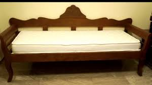 Queen Size Sofa Beds by Queen Size Convertible Sofa Bed Youtube