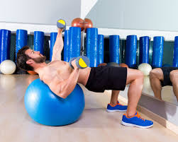 watchfit forget the bench use a swiss ball bench press