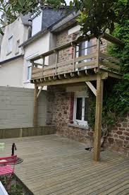 terrasse suspendue en bois terrasse suspendue en pin traité cl 4 ns bois i agencement bois