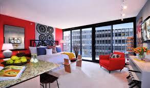 charming one bedroom apartment interior design also home design