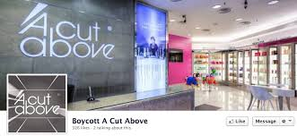 contact for a cut above hair salon malaysia customer starts facebook page to boycott a cut above salon