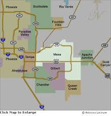 map of areas and surrounding areas mesa area map and surrounding cities