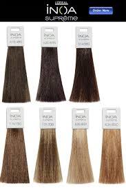 l u0027oreal inoa supreme hair color chart